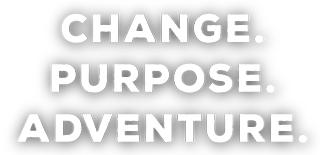 change.purpose. adventure